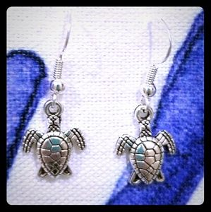3 for $15 cute turtle earrings! Free gift included